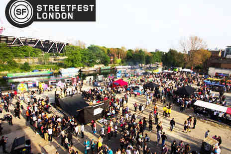 Tobacco Docks - Two Tickets to Streetfest  on May 3  - Save 43%