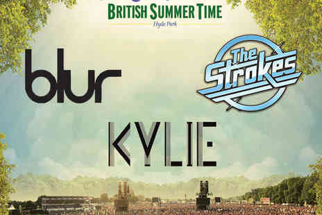 AEG Live - Bundled Tickets to Kylie, The Strokes and Blur - Save 0%