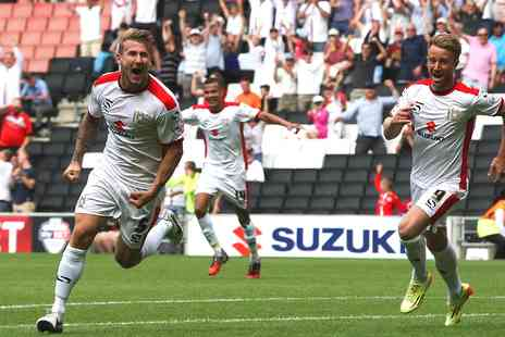 Milton Keynes Dons Football Club - Last Day of the League One Football Season Tickets to MK Dons vs Yeovil Town - Save 42%