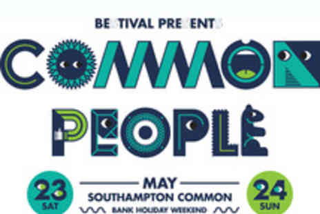 Common People Festival - Tickets to Common People Festival featuring Fatboy Slim - Save 0%
