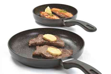 Kitchenways - Two Piece Frying Pan Set with FREE protector - Save 30%
