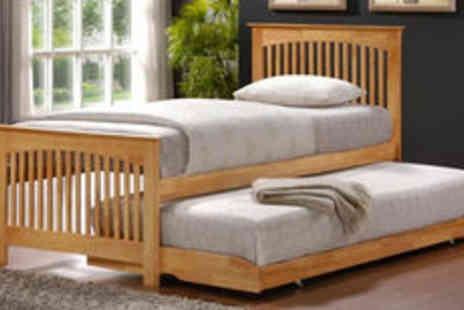 Right Deals UK - Birlea Toronto guest bed in oak or white  FREE delivery - Save 0%