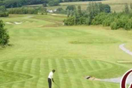 Glyn Abbey Golf Club - 18 Holes of Golf For Two With Trolley Hire Plus Bacon Butty and Hot Drink Each - Save 66%