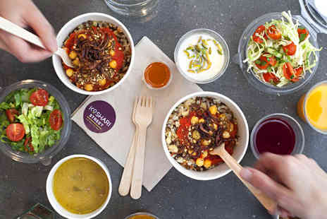 Koshari Street -  Egyptian street food for one person including a drink  - Save 41%