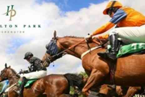 Hamilton Park Racecourse - Two Raceday Tickets - Save 50%