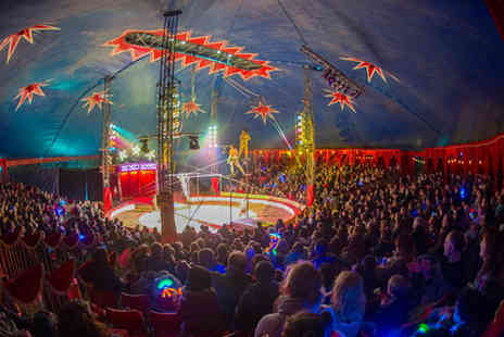 Zippos Circus - Child or adult  front view ticket to see Zippos Circus  - Save 50%