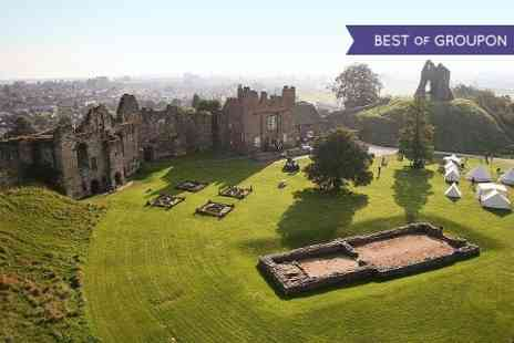 Tutbury Castle - Entry to Pirate Themed Event  - Save 58%