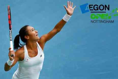 LTA British Tennis - Ticket to Aegon Open Nottingham WTA Tennis  - Save 0%