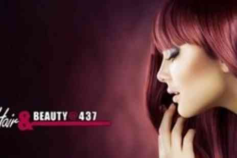 Hair & Beauty - Half Head Highlights or Full Head Colour With Restyle - Save 56%