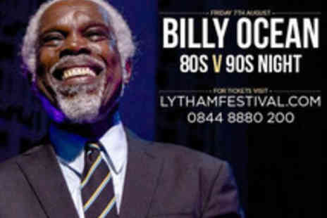Cuffe & Taylor Touring - Ticket to the 80s vs 90s Themed Night at Lytham Festival Featuring Billy Ocean - Save 0%