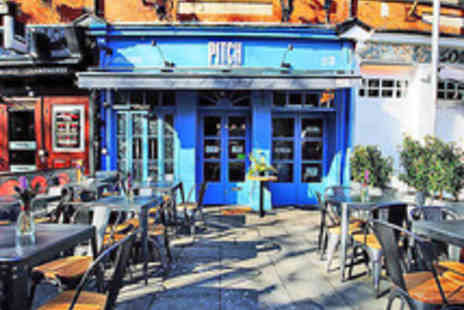 Pitch -  Six Welsh Tapas Dishes with a Cocktail for Two - Save 39%