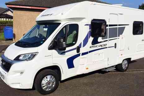 Motorhome Hire - Motorhome Hire for 3 Nights For Up to Six  - Save 50%