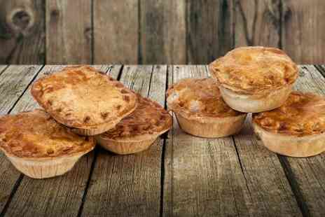 The Real Pie Company - Chicken or Steak Pies 8 Pack  Or 12 Pack  - Save 45%