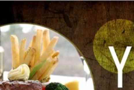 The Yard Ilkley - Two Course Sunday Roast For Two - Save 61%