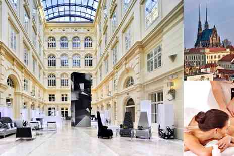 Barcelo Brno Palace - Two nights Stay with breakfast, dinner & more - Save 32%