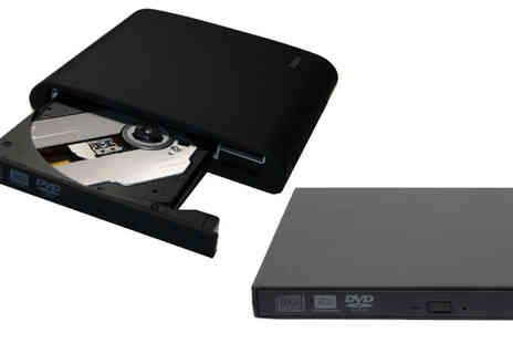 Bosi Tools - External USB 2.0 DVD RW Drive - Save 82%