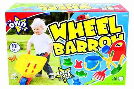 All Boxed Up - Wheelbarrow Play Set - Save 53%