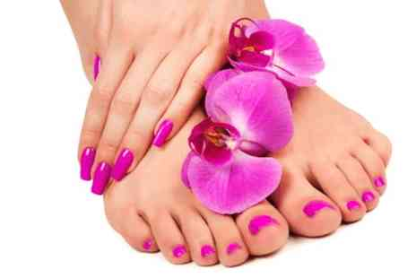 Versage health and beauty - OPI manicure and pedicure  - Save 0%