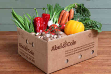 Abel & Cole - Four Week Subscription to a Medium Gourmet Veg Box with Oil, Balsamic and Cookbook - Save 51%