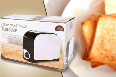 Trojan Electronics - Two Slice Stainless Steel Toaster - Save 57%