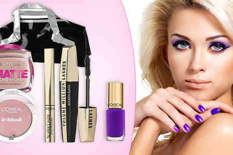 Pink Style - L'Oreal 5 Piece Make Up Set - Save 70%