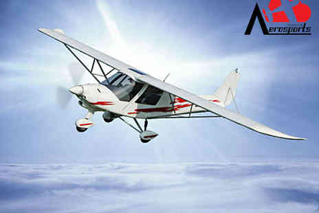 Durham Aerosports - 30 Minutes to Flight Taster Session with  in the Air - Save 42%