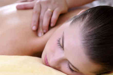 Chakra Bella - Swedish Back Massage, Express Facial, Brow Shape and Tint, and a Nail File and Polish - Save 56%