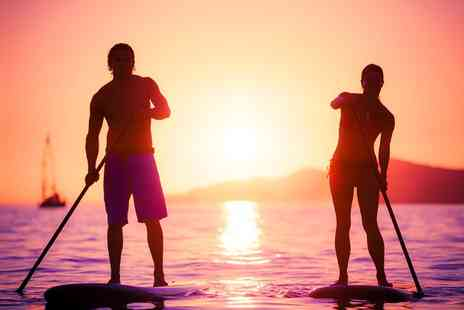 Easy Riders - Two Hour Stand Up Paddleboarding Experience For One  - Save 54%