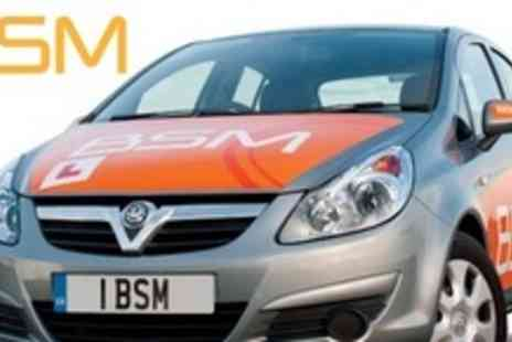 BSM Driving School - Two Hour Driving Lesson - Save 60%