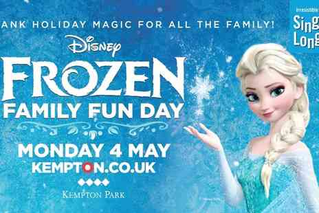 Kempton Park Racecourse - Child and adult family fun day tickets, complete with Frozen screening and sing along. - Save 0%