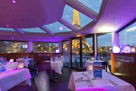 VIP Paris Yacht Hotel - Cruise For Two With Dinner Plus 1 or 2 Night Stay  - Save 0%