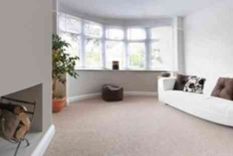 Fast Clean Services - Carpet Cleaning in Two Rooms - Save 65%