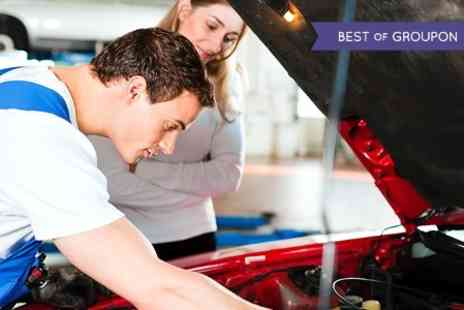 The Garage Mk - 54 Point Car Service Including Oil and Filter Change - Save 71%