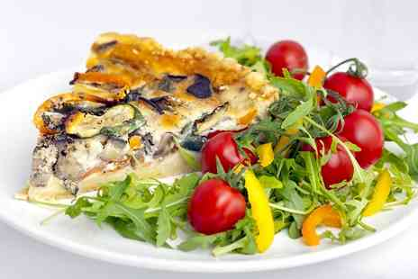 The Lavender Rooms - Quiche or Sandwich Lunch With Cake For Two  - Save 54%