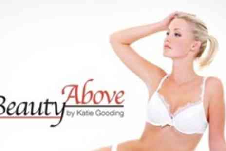 Beauty Above by Katie Gooding - Full Leg Wax  With Bikini Wax - Save 64%