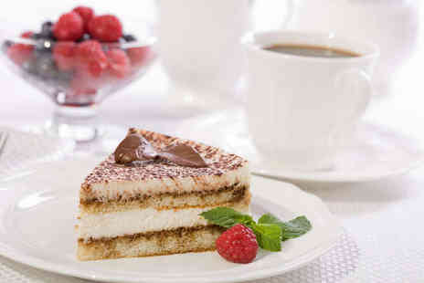 Patisserie - Coffee and Cake for Two - Save 53%