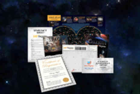 Star Register - Name A Star Package - Save 50%