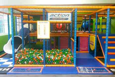 Action Indoor Sports - Entry  to Soft Play  - Save 50%
