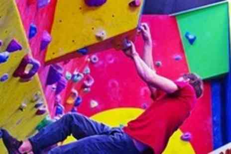 Awesome Walls Stoke - Induction and Climbing Session For Two - Save 61%