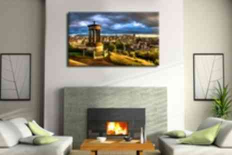 Fast Canvas Print - A stunning personalised 34x46 Canvas Print - Save 78%