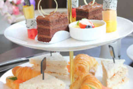 The Fox Club - Afternoon Tea for Two with a Glass of Wine for Two - Save 42%
