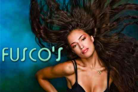 Fusco's Hairdressing - Restyle, Blow Dry and Intense Moisturising Treatment for £19  - Save 60%