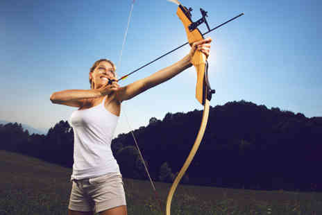 On Targett Events - Two hour archery and laser clay pigeon experience - Save 57%