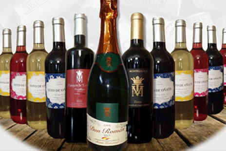 Money2e - 12 Bottle Wine Selection including Rioja & Cava - Save 71%