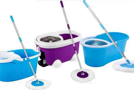 my internet warehouse - 360 Degree Floor Magic Spin Mop Bucket - Save 47%