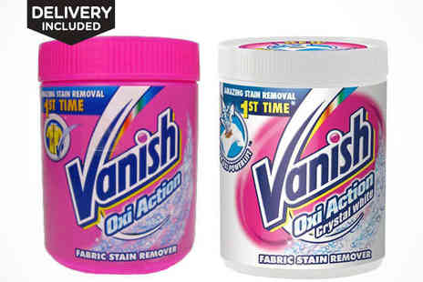 Vanish Oxi Action - Vanish Oxi Action Fabric Stain Remover Powder Delivery Included - Save 42%