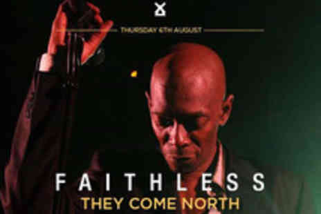 Cuffe & Taylor Touring - Tickets to Faithless at Lytham Festival - Save 0%