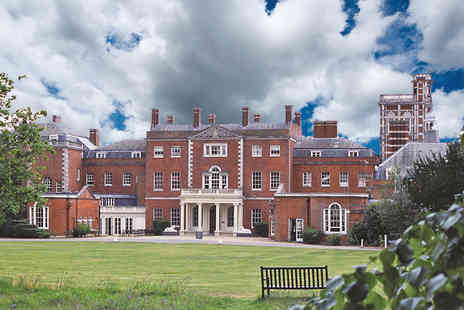 De Vere Venues Theobalds Park - One night Countryside Mansion Retreat to Hertfordshire with Dining - Save 21%