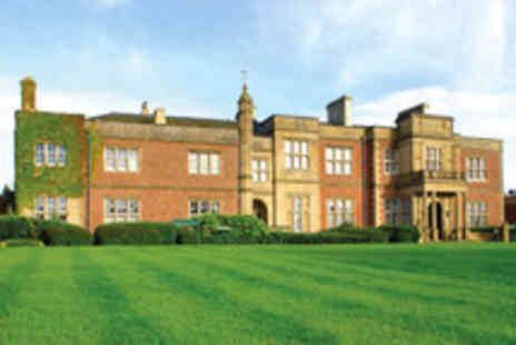 Cranage Hall - Invigorating Cheshire Break for Two - Save 29%