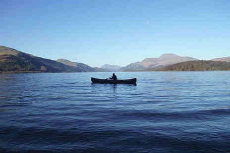 Wild by Nature - Three Hour Guided Canoe Tour of Loch Lomond for One - Save 51%